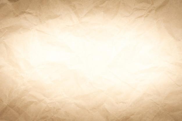 Alte zerknittertes braunes papier textur vintage hintergrund.