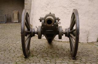 Alten kanon, pistole, waffe