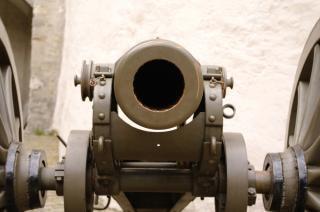 Alten kanon, pistole