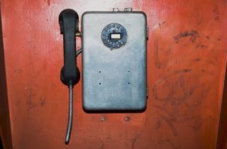 Alten telefon entsättigt