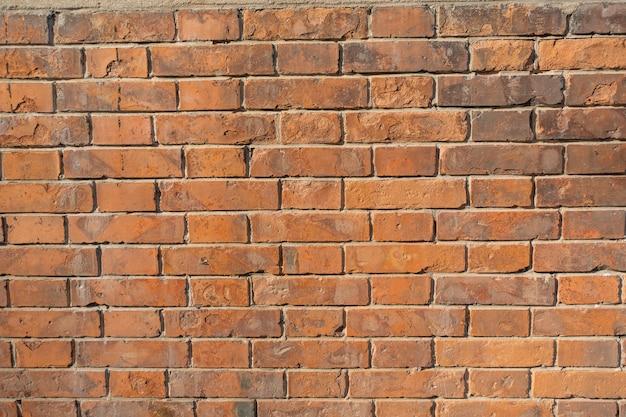Alter backsteinmauerhintergrund.