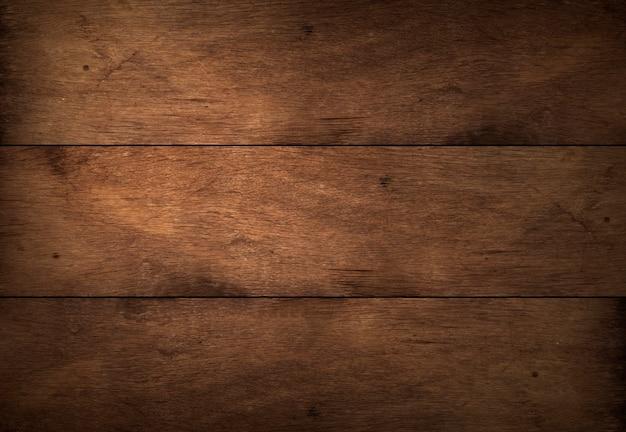 Alter dunkelbrauner holzstrukturhintergrund, holzplankenstruktur mit natürlichem muster, weiches naturholz für ästhetisches kreatives design