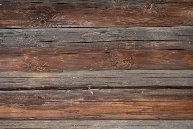 Alter dunkler strukturierter holzhintergrund, oberfläche der alten braunen holzbeschaffenheit, draufsicht, kopienraum
