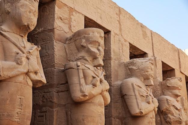 Alter karnak tempel in luxor, ägypten