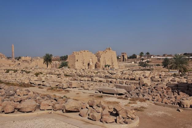Alter karnak-tempel in luxor ägypten