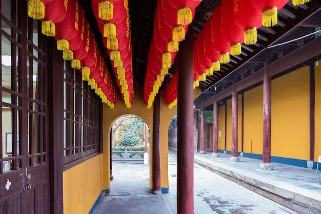Alter longhua pagodentempel in shanghai china.