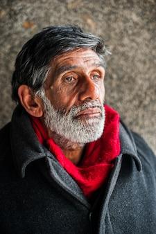 Alter mann porträt