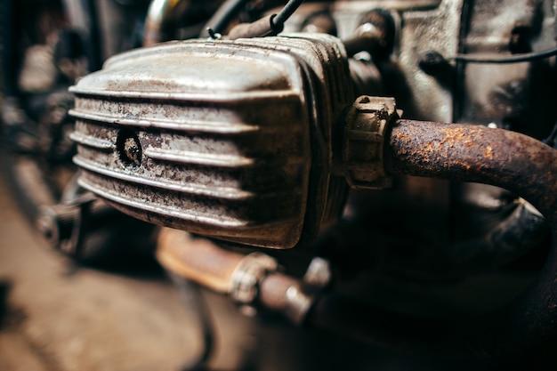 Alter motorradmotor