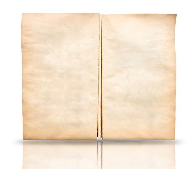 Alter papiertexturhintergrund mit kopienraum für text