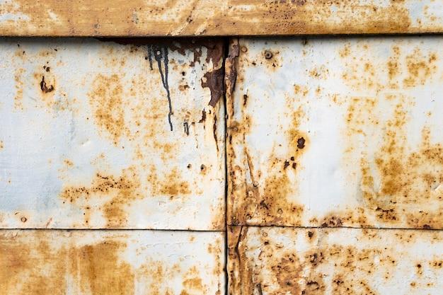 Alter rostiger metallischer hintergrund