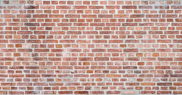 Alter roter backsteinmauerbeschaffenheitshintergrund