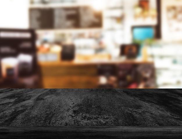 Alter schwarzer hintergrund. grunge-textur. dunkle tapete. tafel tafel beton.