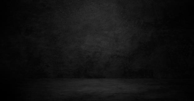 Alter schwarzer hintergrund. grunge textur. dunkle tapete. tafel, tafel, raumwand.
