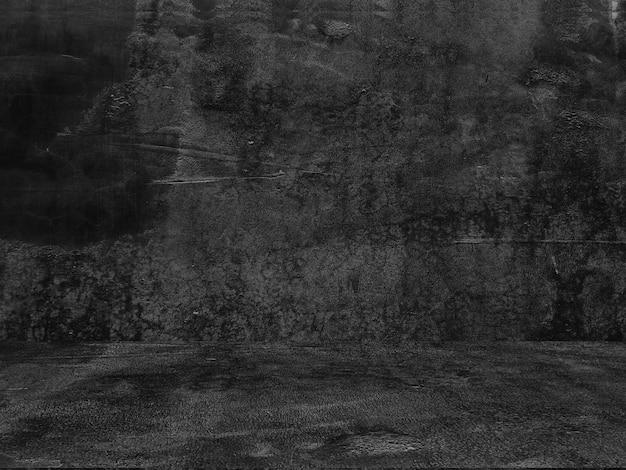 Alter schwarzer hintergrund. grunge textur. tafel tafelbeton