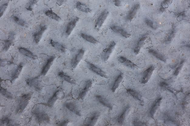 Alter stahlhintergrund. grauer farbalter stahlhintergrund