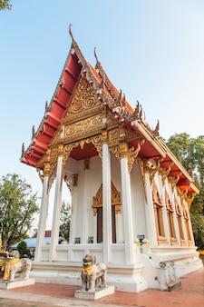 Alter thailändischer buddihsm tempel