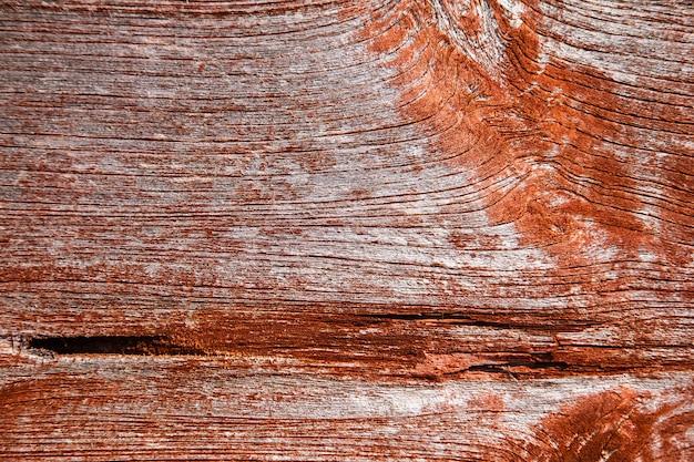 Alter und alter roter holzhintergrund