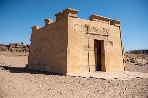 Altes ägyptisches grab