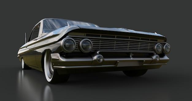 Altes amerikanisches auto in sehr gutem zustand