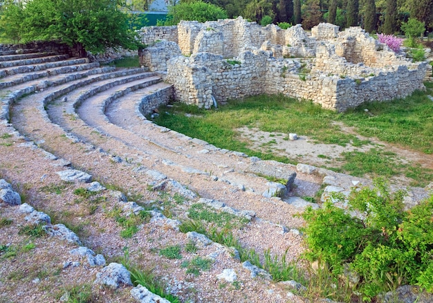 Altes amphitheater in chersonesos