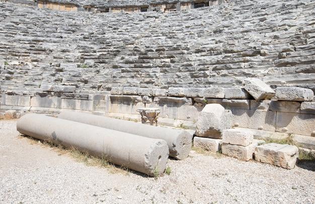 Altes amphitheater in myra, türkei