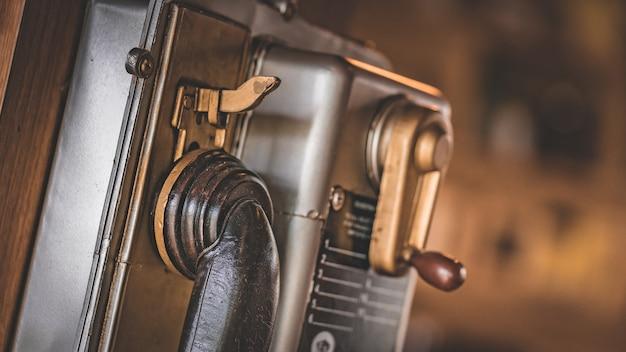 Altes antikes telefon