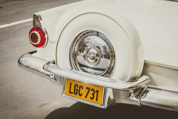 Altes auto licht detail roller