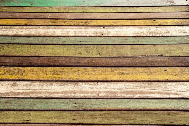 Altes farbholz für boden oder tabelle, hintergrund