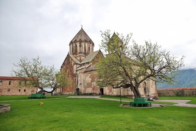 Altes gandzasar-kloster in berg-karabach, kaukasus