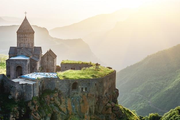 Altes kloster. tatev. armenien