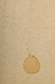 Altes kunstdruckpapier mit fleck