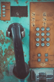 Altes öffentliches telefon
