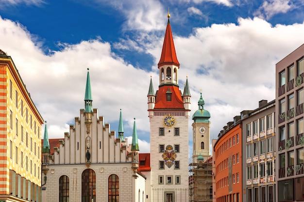 Altes rathaus in münchen, deutschland