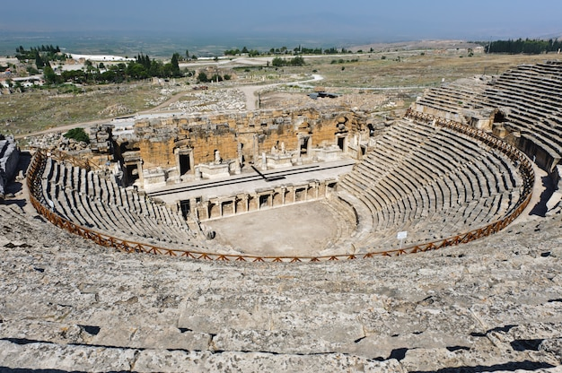 Altes theater in hierapolis