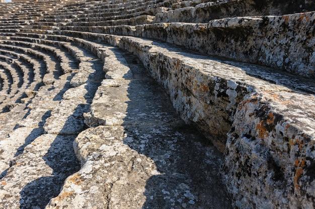 Altes theater in hierapolis