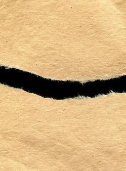 Altes vintage-papier, zerrissene stücke