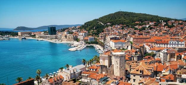Altstadt von split in dalmatien, kroatien.