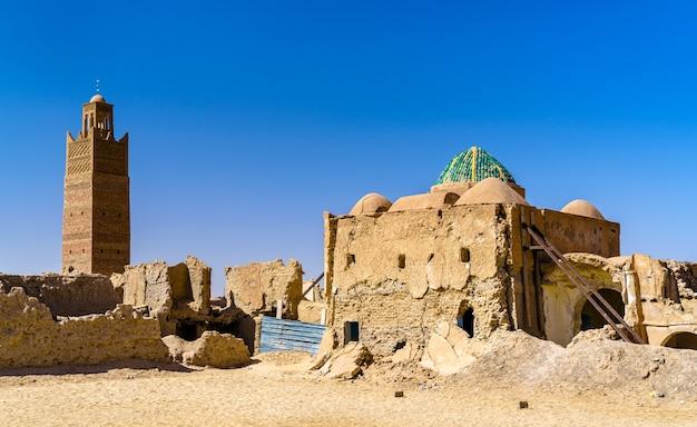 Altstadt von tamacine in ouargla wilaya von algerien