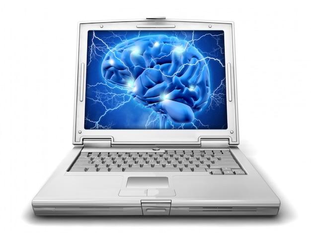 Alzheimer-forschungskonzept isoliert