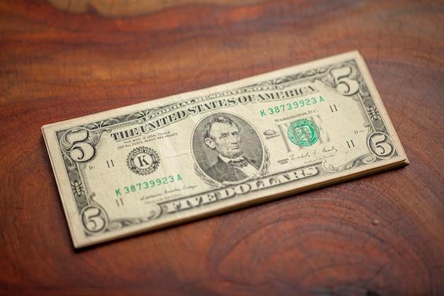 Amerikanische dollarbanknote