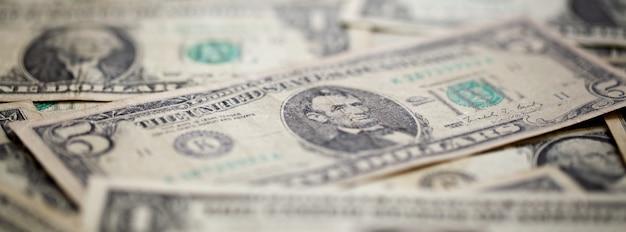 Amerikanische dollarbanknoten