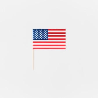 Amerikanische flagge für unabhängigkeitstag