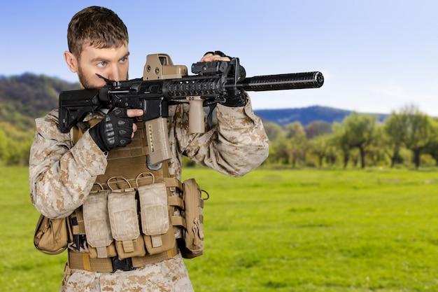 Amerikanischer soldat