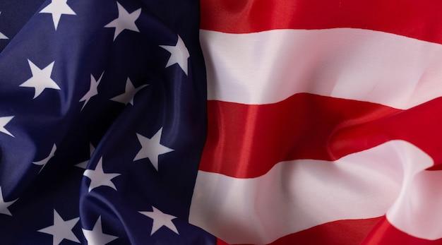 Amerikanisches flaggensymbol des amerikanischen staates