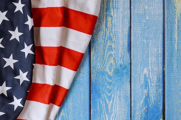 Amerikanisches flaggensymbol feiert feiertag der vereinigten staaten von amerika mit veteranentag memorial day labour day unabhängigkeitstag