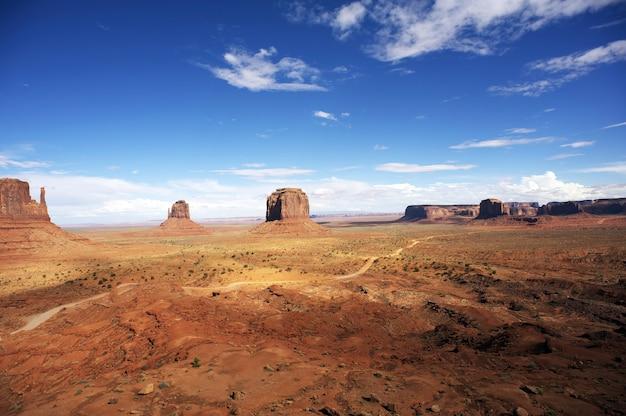 Amerikanisches monument valley