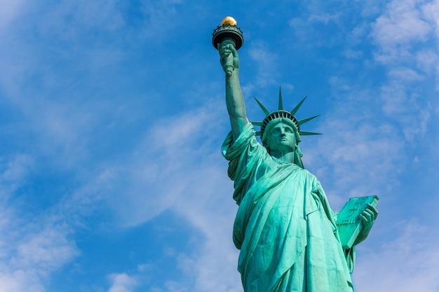 Amerikanisches symbol usa freiheitsstatue new york