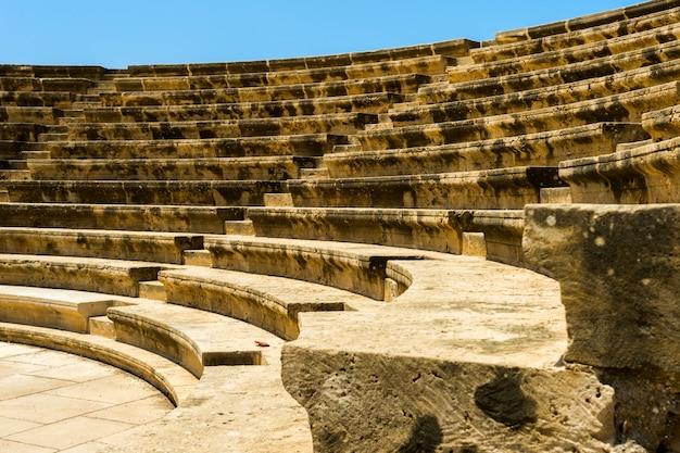 Amphitheater des freiluftsteins