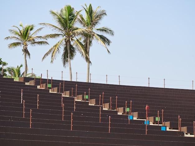 Amphitheater in der dominikanischen republik.