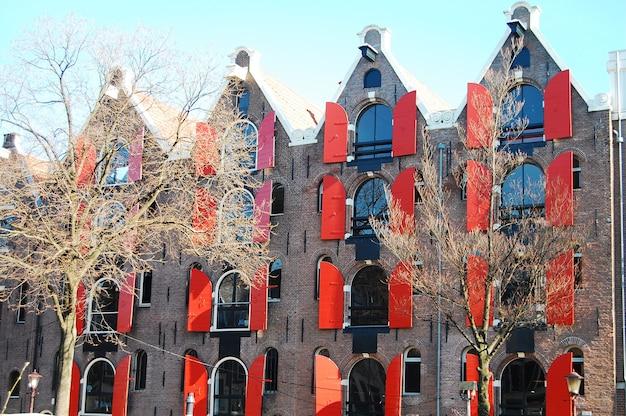 Amsterdam gebäude